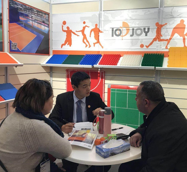 Top Joy Group Germany DOMOTEX Hannover Exhibition 2018