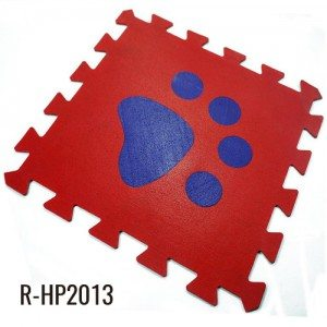 Eco Home Kids Rubber Click Flooring Sports Play Mats