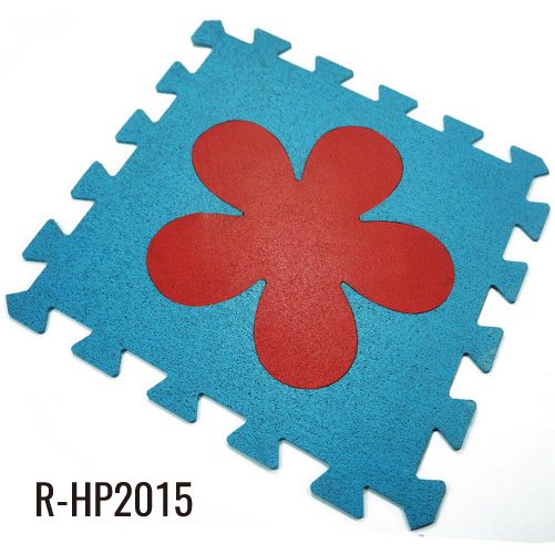 2/5″ DIY Rubber Floor Mats Playground for Kindergarten