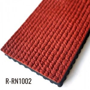 10mm Red High siligga Xoog dib loo Rubber Running Track