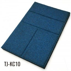 1.18″ Blue Eco-safety Gargen Rubber Tiles