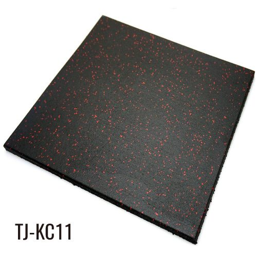 EPDM Commercial Rubber floor Tiles for Gym Equipment