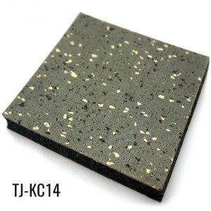 1″ Sports Weight Room Gym Rubber Floor Tiles