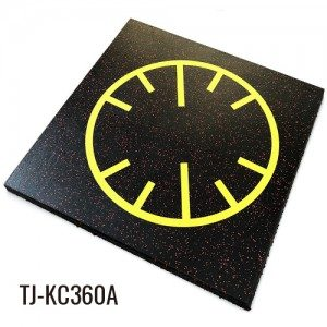 20″ Functional Bright Luxury Rubber Floor Tiles