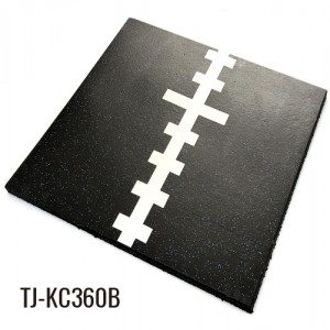100cm*100cm 15mm 360 Multi-purpose Indoor Rubber Gym Tiles
