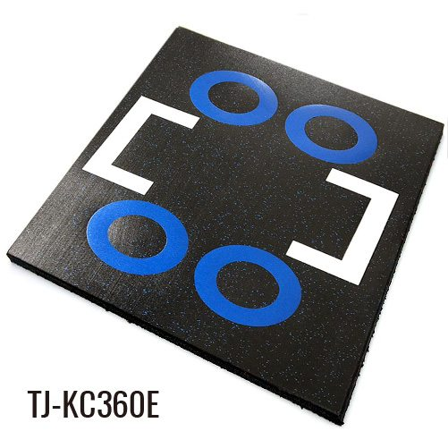 Eco Safety Commercial Gym Outdoor Rubber Floor Tiles