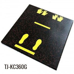 EPDM Granules Floor Tiles Rubber Playground Flooring