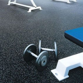 Why choose the rubber rolls in gym?