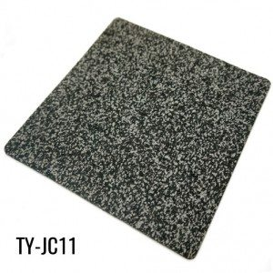 Soft 1m*20m Durable Gray Virgin EPDM Fleck Rubber Flooring