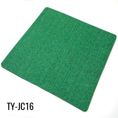 1/8″ Green Virgin EPDM Fleck Sports Roll of Rubber