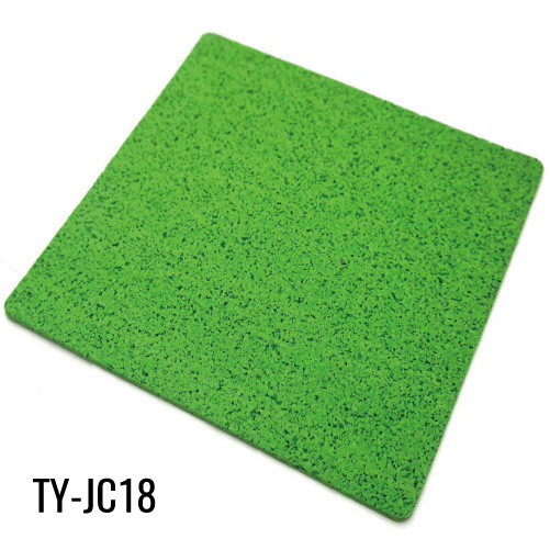 Green 8mm Full Virgin EPDM Gym Rubber Sheet
