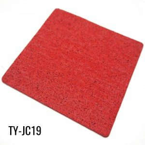 5mm Thickness Flexible Red Rolled Rubber Flooring for Gyms