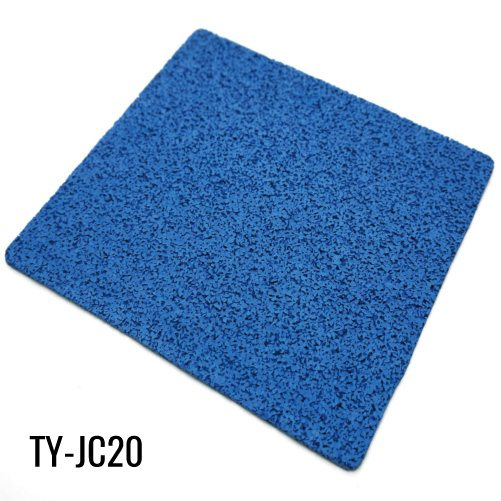 10mm Durable Blue Virgin Rubber Rollers Gym Flooring