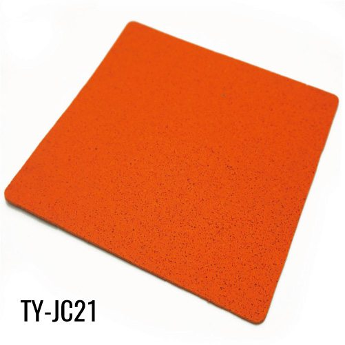 12mm Strong Orange Rubber Sheet Flooring for Weight Room