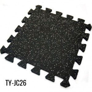 3/8″ Home EPDM Rubber Interlocking Gym Flooring Sheet