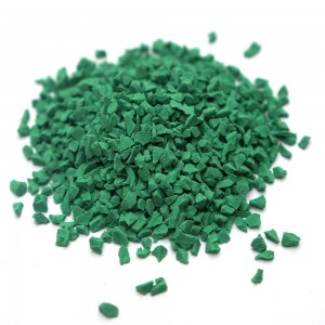 Outdoor Green Rubber Granules for Playground