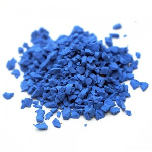 UV Coating Sports Field EPDM Rubber Granules