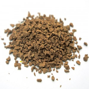 Brown Sound Absorption Rubber Granules