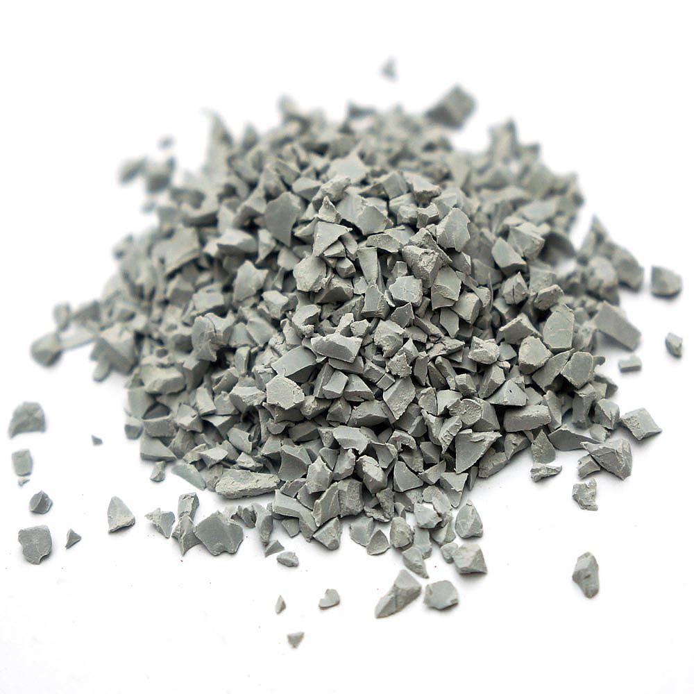 Grey Rubber Crumb for Outdoor Sports Field
