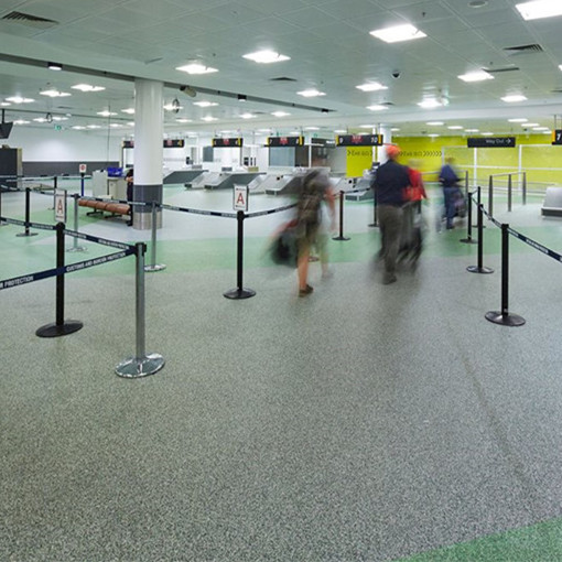 Three Reasons of Choose Rubber Flooring in Airport
