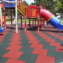 How to Create Home Rubber Playground Surface?