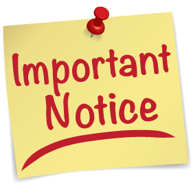 National Day's Holiday Notice