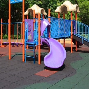 Another Option-Rubber Outdoor Flooring