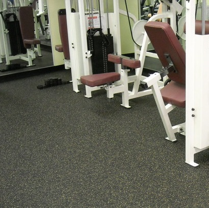 How to create a comfortable gym for rubber flooring?