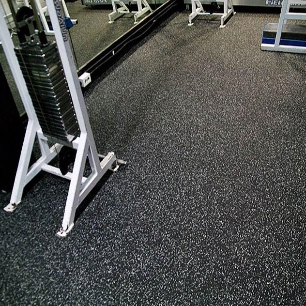 Recycled VS. Virgin Rubber Gym Flooring