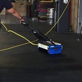 How to Refresh Rubber Flooring?