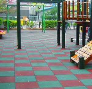 TJ-KC12 Playground Rubber Tiles