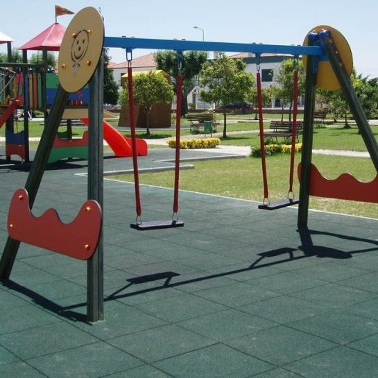 Options Rubber Flooring for Playground